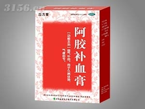 阿胶补血膏盒300g