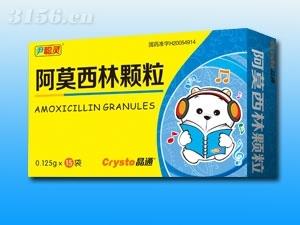 阿莫西林颗粒(消炎,抗生素)