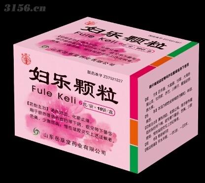 【药品类别】中药产品 妇科用药    【药品剂型】颗粒 【药品规格】6