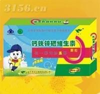 钙铁锌硒维生素颗粒(水果味)